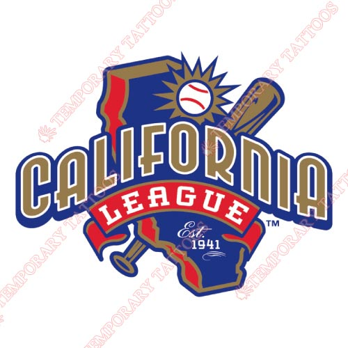 California League Customize Temporary Tattoos Stickers NO.7653