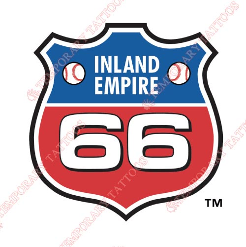 Inland Empire 66ers Customize Temporary Tattoos Stickers NO.7664