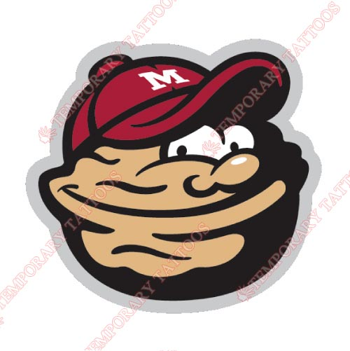 Modesto Nuts Customize Temporary Tattoos Stickers NO.7670