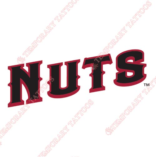 Modesto Nuts Customize Temporary Tattoos Stickers NO.7674