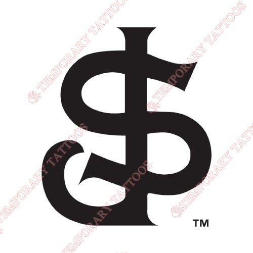 San Jose Giants Customize Temporary Tattoos Stickers NO.7680