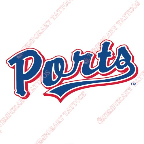 Stockton Ports Customize Temporary Tattoos Stickers NO.7684
