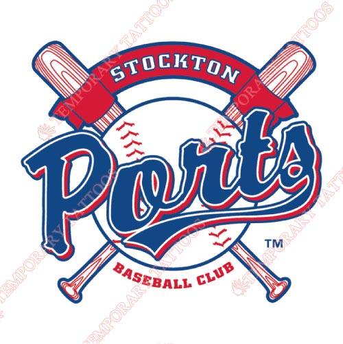 Stockton Ports Customize Temporary Tattoos Stickers NO.7685