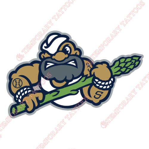 Stockton Ports Customize Temporary Tattoos Stickers NO.7687