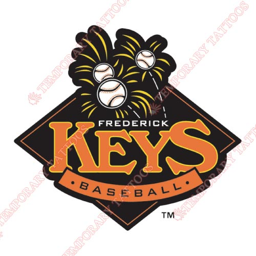 Frederick Keys Customize Temporary Tattoos Stickers NO.7791