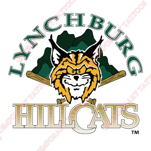 Lynchburg Hillcats Customize Temporary Tattoos Stickers NO.7793