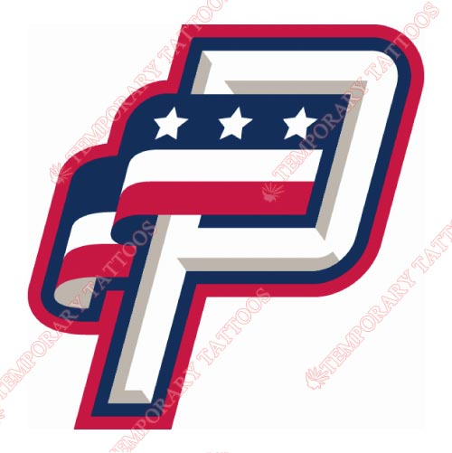 Potomac Nationals Customize Temporary Tattoos Stickers NO.7795