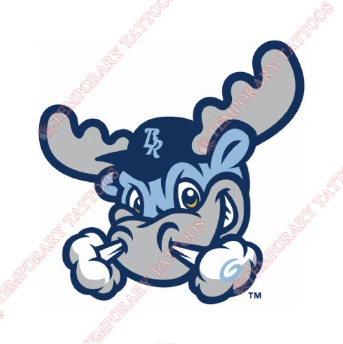 Wilmington Blue Rocks Customize Temporary Tattoos Stickers NO.7800