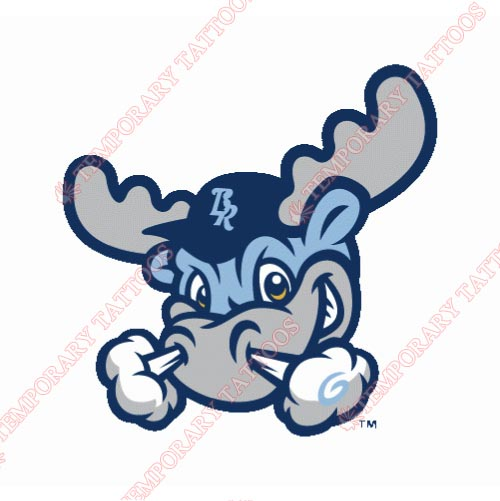 Wilmington Blue Rocks Customize Temporary Tattoos Stickers NO.7802