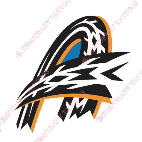 Akron Rubber Ducks Customize Temporary Tattoos Stickers NO.7812