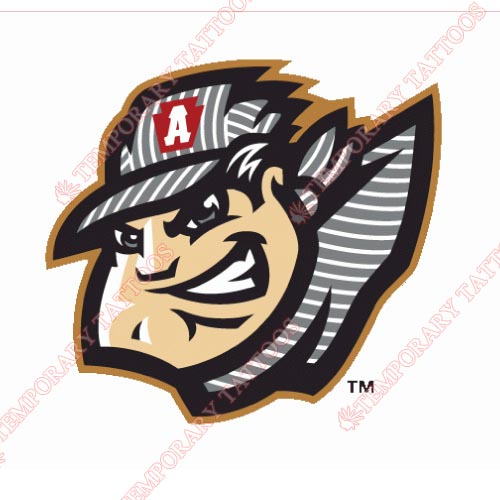 Altoona Curve Customize Temporary Tattoos Stickers NO.7816