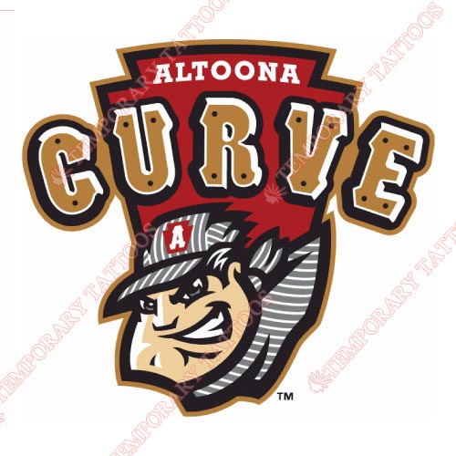 Altoona Curve Customize Temporary Tattoos Stickers NO.7817