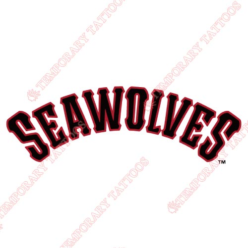 Erie SeaWolves Customize Temporary Tattoos Stickers NO.7830