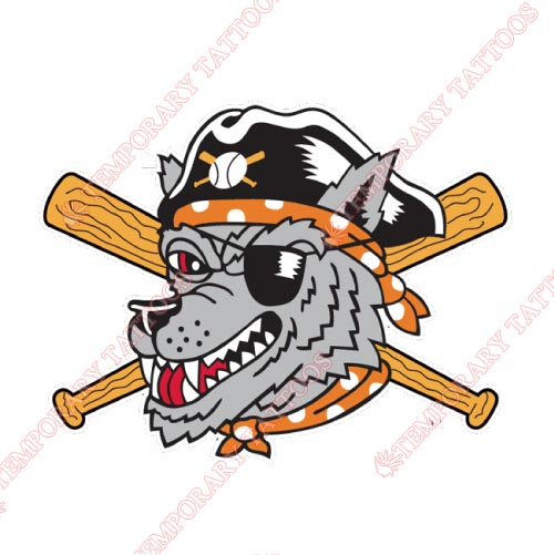 Erie SeaWolves Customize Temporary Tattoos Stickers NO.7832