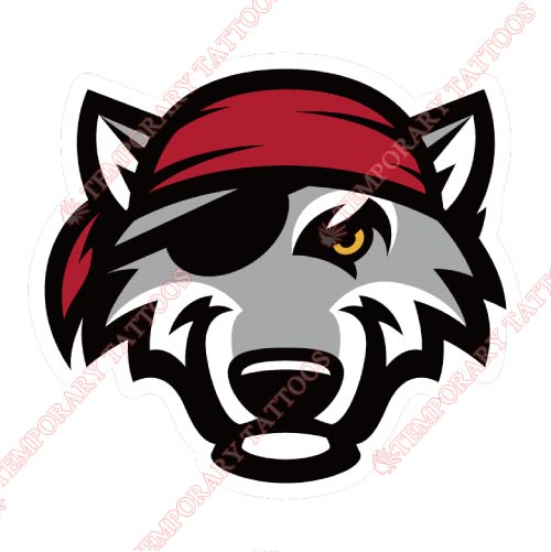Erie SeaWolves Customize Temporary Tattoos Stickers NO.7835