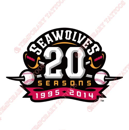 Erie SeaWolves Customize Temporary Tattoos Stickers NO.7836