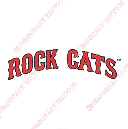 New Britain Rock Cats Customize Temporary Tattoos Stickers NO.7848