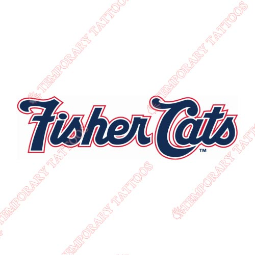 New Hampshire Fisher Cats Customize Temporary Tattoos Stickers NO.7850