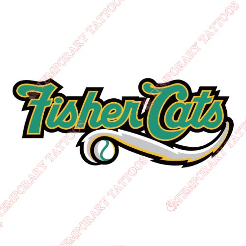 New Hampshire Fisher Cats Customize Temporary Tattoos Stickers NO.7852