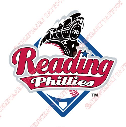 Reading Fightin Phils Customize Temporary Tattoos Stickers NO.7866