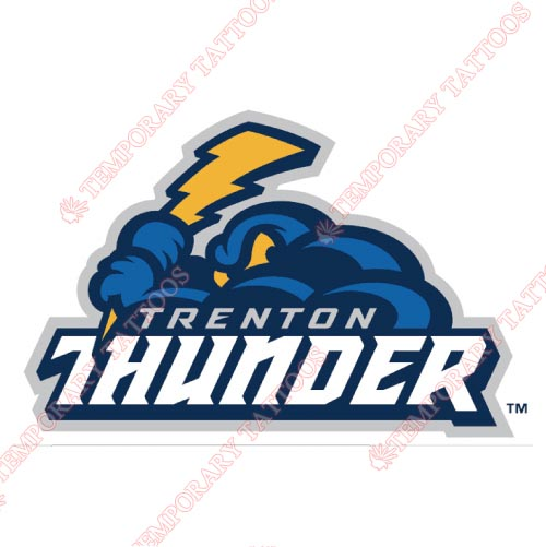 Trenton Thunder Customize Temporary Tattoos Stickers NO.7873