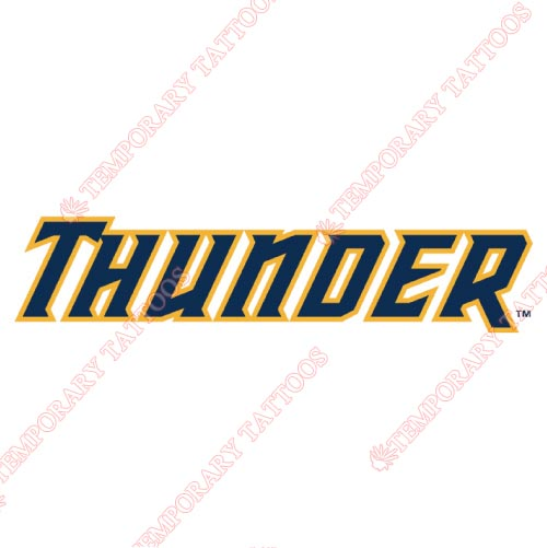 Trenton Thunder Customize Temporary Tattoos Stickers NO.7874