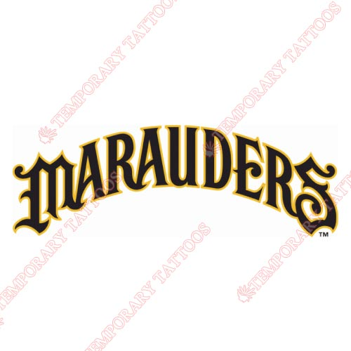 Bradenton Marauders Customize Temporary Tattoos Stickers NO.7878
