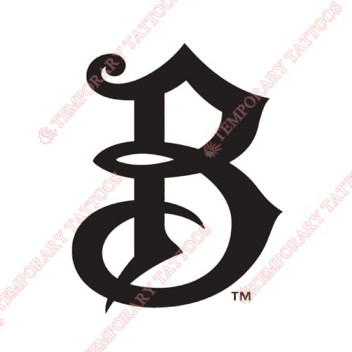 Bradenton Marauders Customize Temporary Tattoos Stickers NO.7882