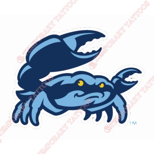 Charlotte StoneCrabs Customize Temporary Tattoos Stickers NO.7885