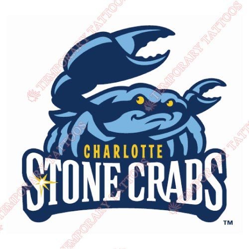 Charlotte StoneCrabs Customize Temporary Tattoos Stickers NO.7886