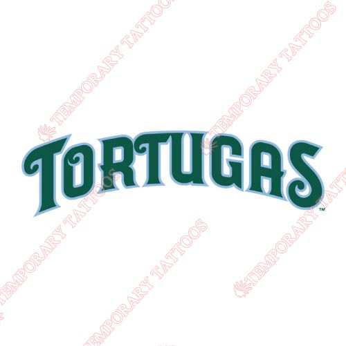 Daytona Tortugas Customize Temporary Tattoos Stickers NO.7895