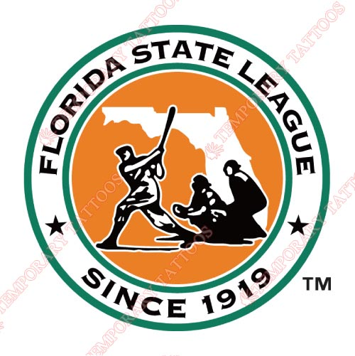 Florida State League Customize Temporary Tattoos Stickers NO.7903
