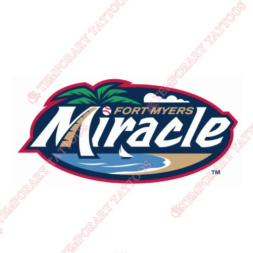 Fort Myers Miracle Customize Temporary Tattoos Stickers NO.7904