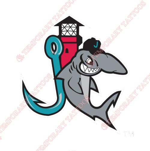 Jupiter Hammerheads Customize Temporary Tattoos Stickers NO.7911