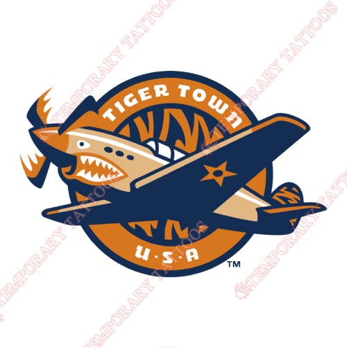 Lakeland Flying Tigers Customize Temporary Tattoos Stickers NO.7915