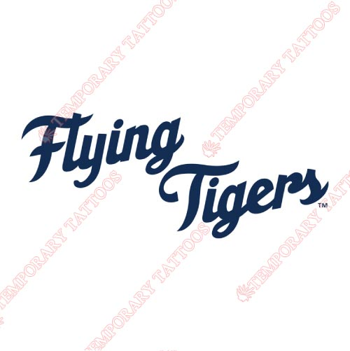 Lakeland Flying Tigers Customize Temporary Tattoos Stickers NO.7916