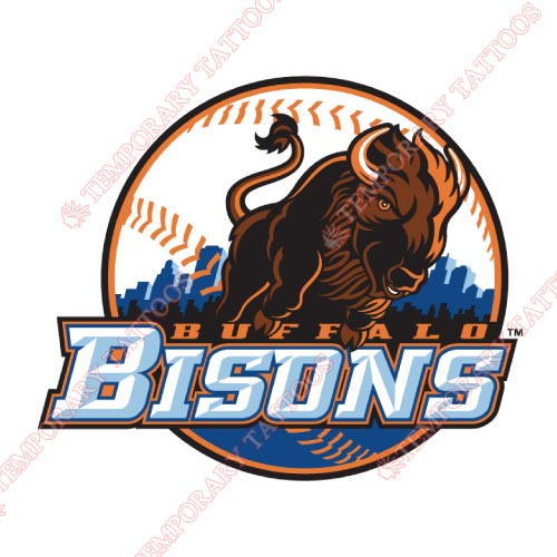 Buffalo Bisons Customize Temporary Tattoos Stickers NO.7927