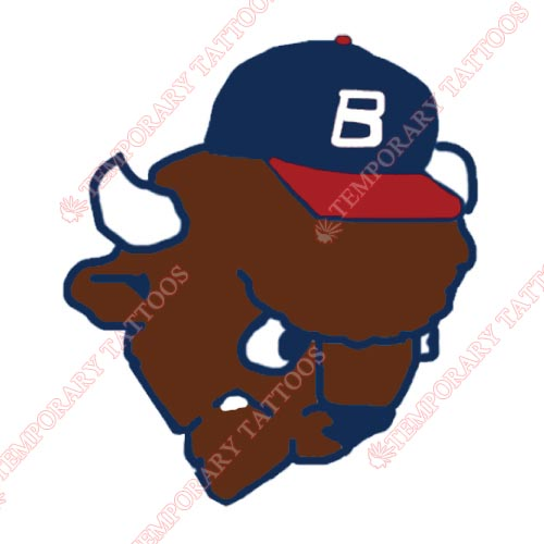 Buffalo Bisons Customize Temporary Tattoos Stickers NO.7928
