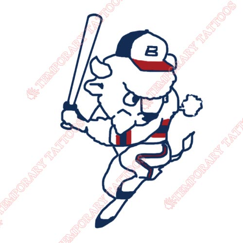 Buffalo Bisons Customize Temporary Tattoos Stickers NO.7931