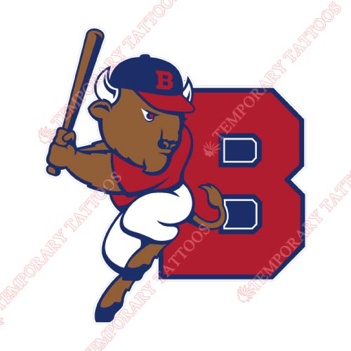 Buffalo Bisons Customize Temporary Tattoos Stickers NO.7933