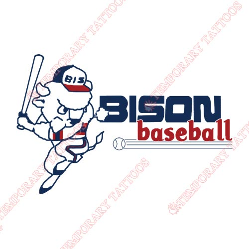 Buffalo Bisons Customize Temporary Tattoos Stickers NO.7934