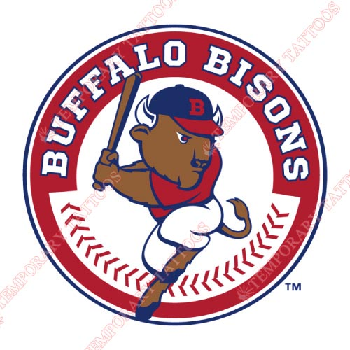 Buffalo Bisons Customize Temporary Tattoos Stickers NO.7935