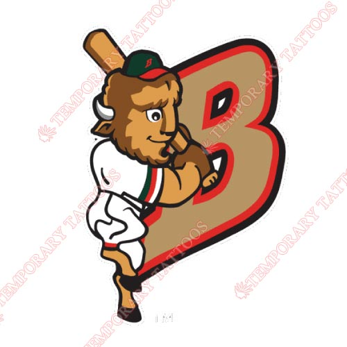 Buffalo Bisons Customize Temporary Tattoos Stickers NO.7936