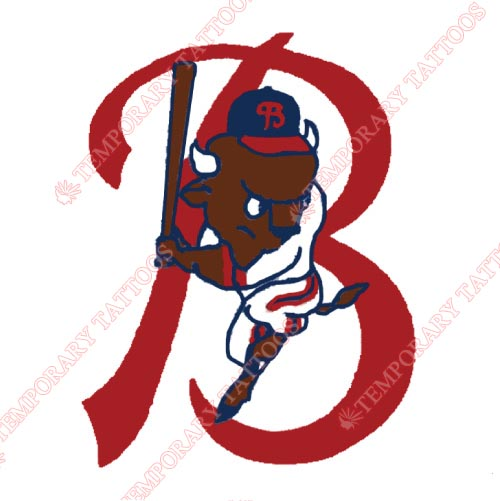 Buffalo Bisons Customize Temporary Tattoos Stickers NO.7938