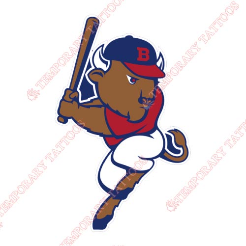 Buffalo Bisons Customize Temporary Tattoos Stickers NO.7940
