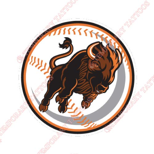 Buffalo Bisons Customize Temporary Tattoos Stickers NO.7944