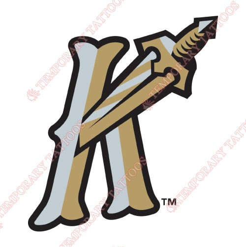 Charlotte Knights Customize Temporary Tattoos Stickers NO.7947