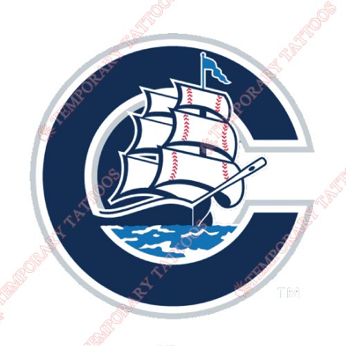 Columbus Clippers Customize Temporary Tattoos Stickers NO.7957