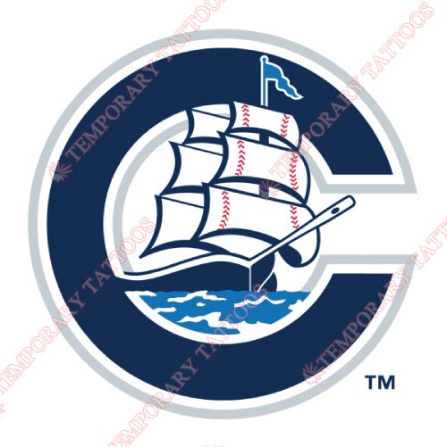 Columbus Clippers Customize Temporary Tattoos Stickers NO.7962