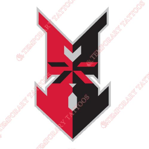 Indianapolis Indians Customize Temporary Tattoos Stickers NO.7971